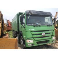 Used Dump Truck 375 HOWO 8X4 tipper china brand good quality Africa hot sale Manufactures