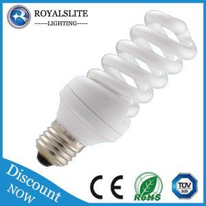 E14&E27 100%tri phosphor Compact Fluorescent Lamp Manufactures