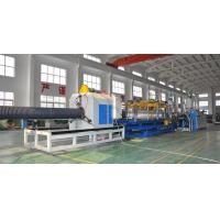 Quality HDPE/PP Double Wall Corrugated Pipe Production Line , Corrugated Pipe Production Equipment for sale