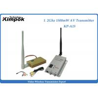 China Professional Wireless Video Transmitter With 1500mW , 2KM Transmit Distance on sale