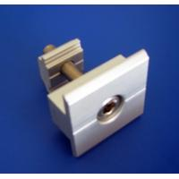 Aluminum Saolar Panel Mid Clamp For Solar Roof Mounting Systems  Manufactures