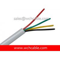 UL PVC Cable, AWM Style UL20200 26AWG 4C VW-1 60°C 300V, LDPE / PVC Manufactures