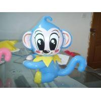Monkey Blue Inflatable Air Dancers  ,  Durable Inflatable Animal Show Manufactures