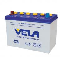 Dry Charged Car Battery - N70/N70L/12V70ah Manufactures