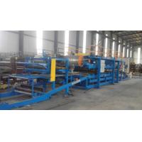 32KW Sandwich Panel Roll Forming Machine With 0 - 3.8m / Min Working Speed Manufactures