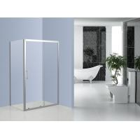 Bathroom Stainless Steel Shower Enclosures Sliding Door Shower Cubicles With Frame Manufactures