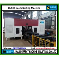 Quality China CNC H Beam Drilling and Band Sawing Production Line Structural Steel for sale