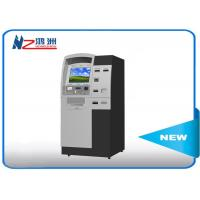 Indoor free stand self ordering kiosk with thermal printer for visitor Manufactures