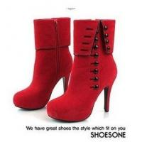 Buy cheap 2012 The New High-heeled Suede Boots from wholesalers