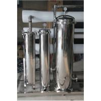 Quality 20 Inch 5 cores Stainless Steel Water Filter Housing For Water Treatment for sale