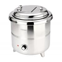 Stainless Steel Electronic Soup Kettle Adjustable Temperature Control Knob 10Ltr 220VAC 380W Manufactures