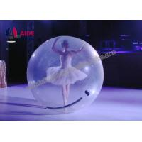 Water Bubble Ball Inflatable Ball Game 7 Foot Clear Mini Zorb Ball OEM Manufactures