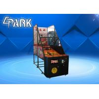 Amusement Park Fitness Arcade Basketball Game Machine In Normal Size 350W Manufactures