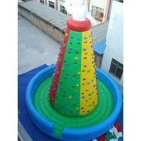 Durable Inflatable Sports Games , Interactive Rock Climbing Walls Manufactures