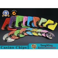 Buy cheap Casino Printable Acrylic Ultimate Poker Chips Jeton Diameter 81 * 56 / 94 * 66mm from wholesalers