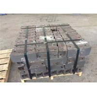 Customized Service Chrome Cast Iron Wear Plate Hammers Higher Toughness Manufactures