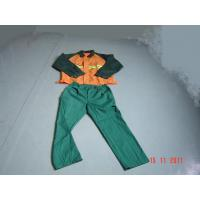 OEM outdoor work clothing /Clothes Coveralls with cotton+anti-static fiber material Manufactures