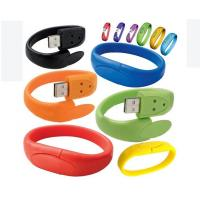 Standard USB 2.0 Bracelet Wristband USB Flash Drive Full Capacity Manufactures
