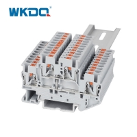 High Quality Grey JPTTB 2.5-PV Push in Universal Terminal Block Ce Certified Manufactures