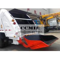 Sealed Container Rear Loading Garbage Truck for Urban Domestic Refuse Manufactures