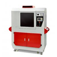 Mini Leather Vamp Marking Machine Replace Screen Printing And Silver Refill Pen Manufactures