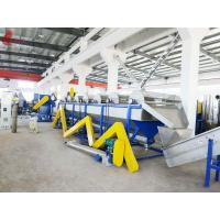 Stainless steel Waste Plastic Recycling Machine Full automatic , film recycling machine Manufactures