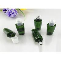 Round And Square Cosmetic Glass Bottles 5ml 10ml 15ml With Roller Ball Manufactures