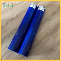 Eco Blue Window Glass Protective Film For Painting , 500mm - 1600mm Width Manufactures