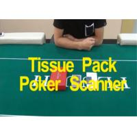 Tissue Packing Poker Analyzer Poker Playing Cards Barcodes Scanner Manufactures