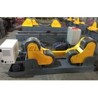 Quality Pipe Self Aligned Welding Rotator PU 20 Ton 1.5Kw Inverter Motor for sale