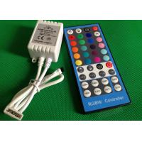 China 44 Key Wireless Remote RGBW LED Light Controllers For LED Strip CE ROHS on sale