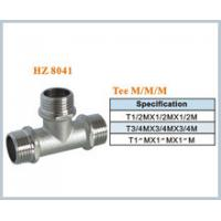 brass plumbing fitting tee male Manufactures