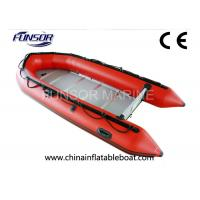 Leisure Sports Hard Bottom Inflatable Boats Inflatable Touring Kayak For River / Lake Manufactures