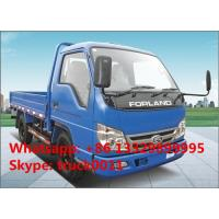 Quality forland brand mini dump truck, 2ton dump truck with factory price, hot sale for sale
