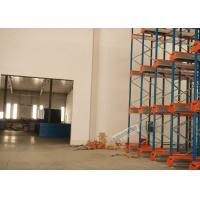 Multi Deep Shuttle Storage Pallet Racks 2 Aisles With 400W Travelling Motor Manufactures