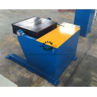 Tilting Square Table Pipe Welding Positioners 1 Ton Rated Capacity Manufactures