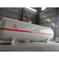 hot sale best price ASME standard 50,000L LPG gas storage tank, 20tons bulk cooking gas storage tank for sale Manufactures