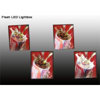 China Portable Indoor Decorative LED Movie Poster Light Boxes With Color Changing on sale