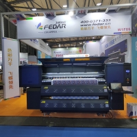 China 8 Heads FD6198E I3200 Dye Sublimation Printer For Fabric on sale