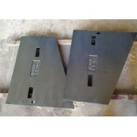 Manganese Steel Liner Plate Metal Casting Parts Sand Casting Process For Crushers Manufactures