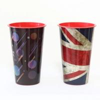 China FDA 3D Lenticular Cup With Lid , Trade Assurance Single Wall Durable Plastic Tumbler Cups on sale
