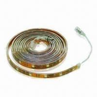 IP65 Waterproof Flexible LED Strip with 1m Length, 12V DC Voltage and 60-piece LED Quantity Manufactures
