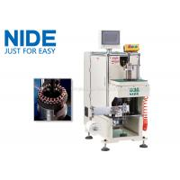 NIDE stator coil lacing machine with CNC control design and HIM program Manufactures