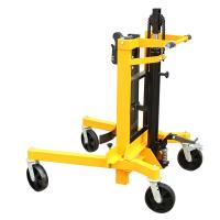 Hydraulic Drum Stacker 0.3m Lifting Height Eagle-gripper Type with 400Kg Load Manufactures
