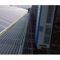 solar panel perforated aluminum metal flooring use roof walkways Manufactures