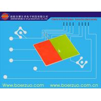 Thin Metal Membrane Overlay Stickers With Embossed Button For Measuring Device Manufactures