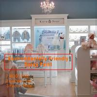 hot sell fashion baby clothes store interior design for clothing display Manufactures