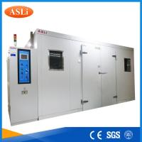 Touch Screen Programmable Walk In Stability Chamber 3rd Party Calibrated SGS Stainless Steel Manufactures