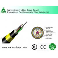 Aramid Yarn Fiber Optic Cable ADSS Manufactures