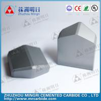 China WC Co Cemented carbide TBM Disc Cutter  shield cutting OEM / ODM on sale